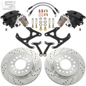 LITTLE SHOP MFG GM Early Style S10 & Midsize Rear Disc Brakes