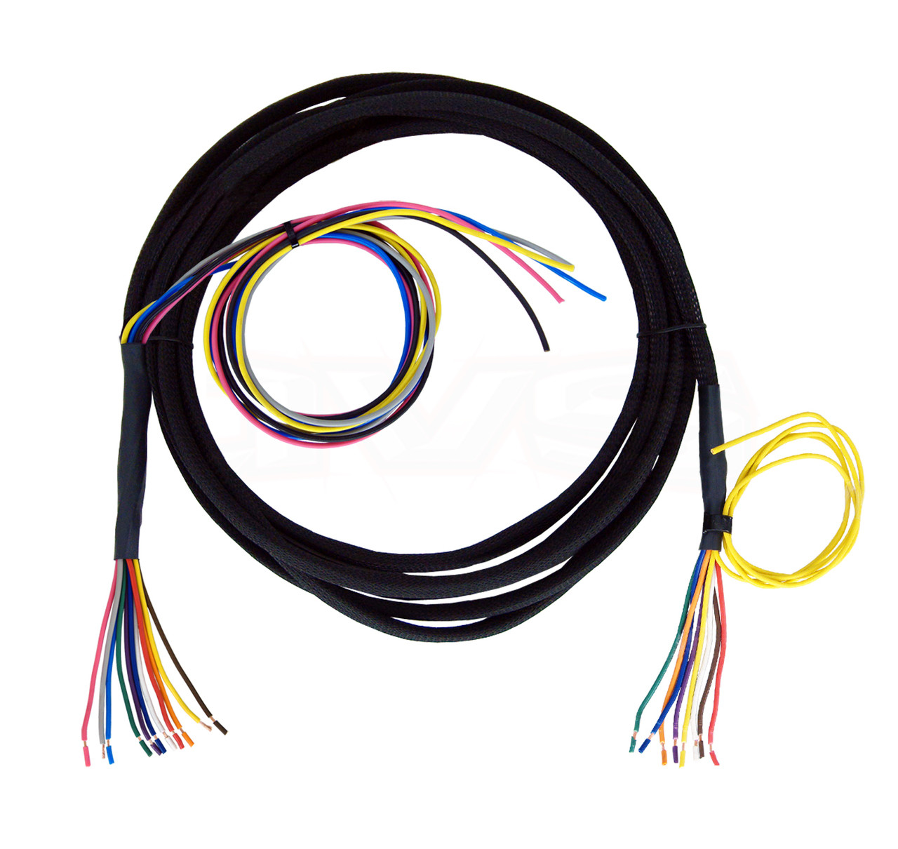 Universal Wiring Harness Trusted Schematics Diagram Truck Avs Valve 10 15 20 To Stripped Wires Painless