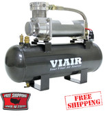 VIAIR 2 GALLON AIR SOURCE KIT HIGH FLOW TO 200psi (12v)