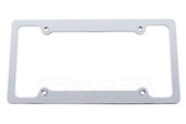 LICENSE PLATE FRAME CHROME BILLET