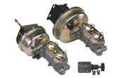 "67-72 C-10 9"" BRAKE BOOSTER WITH MASTER CYLINDER AND BRACKET FOR FRONT DISC BRAKES"