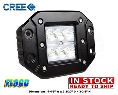 18W OFF-ROAD LED LIGHT W/ 6 pcs 3W CREE LED LIGHTS (FLOOD)  sc 1 st  AVS & 18W OFF-ROAD LED LIGHT W/ 6 pcs 3W CREE LED LIGHTS (FLOOD) - AVS azcodes.com