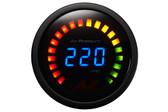 "Air-Zenith 220PSI ""Black"" Digital Pressure Gauge (Includes 1pc. Sensor)"