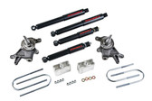 "98-00 Nissan Frontier (all except crew cab) 2"" F/3"" R W/ ND2 Shocks"