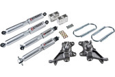 "84-95 Toyota PU 2"" F/3"" R W/ Street Performance Shocks"