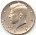 2017 S JFK Enhanced Uncirculated Half Dollar Uncirculated