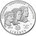 2013 W Commemorative Dollar Girl Scouts with OGP $1 Proof US Mint