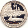 2018 S America the Beautiful Voyageurs National Park in Minnesota Washington Quarter Proof