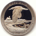 2018 S America the Beautiful Block Island National Wildlife Refuge in Rhode Island Washington Quarter Proof