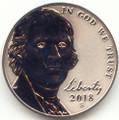 2018-S Jefferson Clad Nickel Reverse Proof
