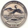 2018-S America the Beautiful Cumberland Island National Seashore in Georgia Silver Washington Quarter Reverse Proof