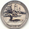 2018-S America the Beautiful Voyageurs National Park in Minnesota Silver Washington Quarter Reverse Proof