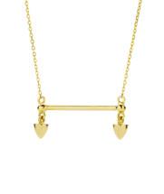 TIBETAN EMPRESS NECKLACE - GOLD