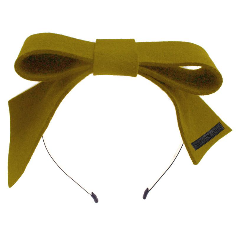 Present Bow 2 Mustard