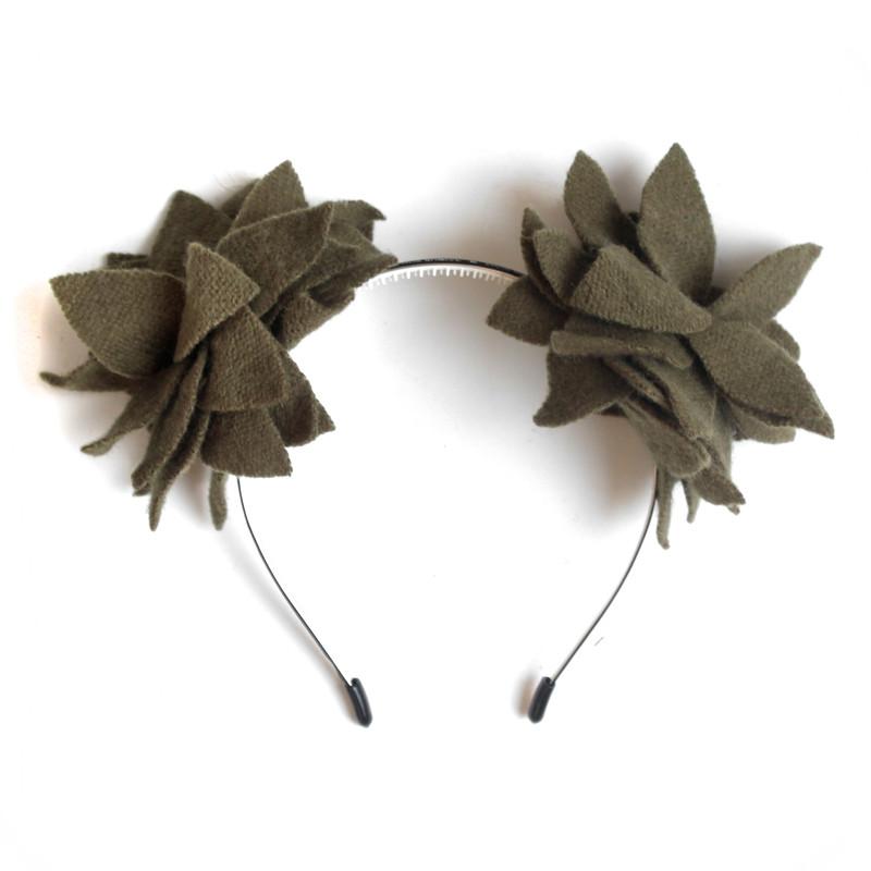 Grape Vine Olive Flower Ears