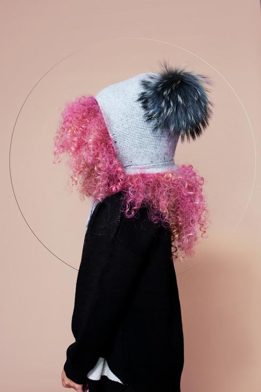 Bonnet with fur