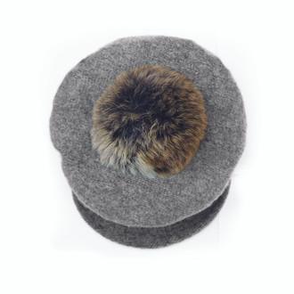 Newsboy Hat Grey