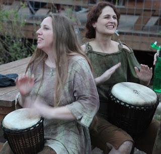 Drumming ladies