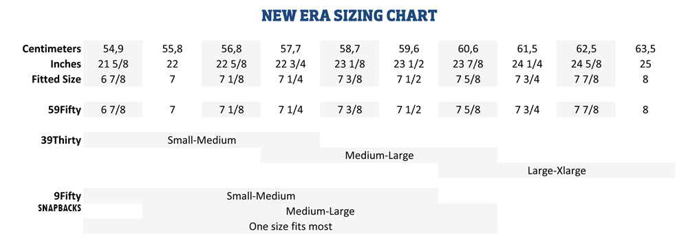 netherlands new era 59fifty hat size chart 2b4f3 ea570