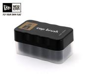 New Era Authentic Cap Brush - Black Sponge with Plastic Handle