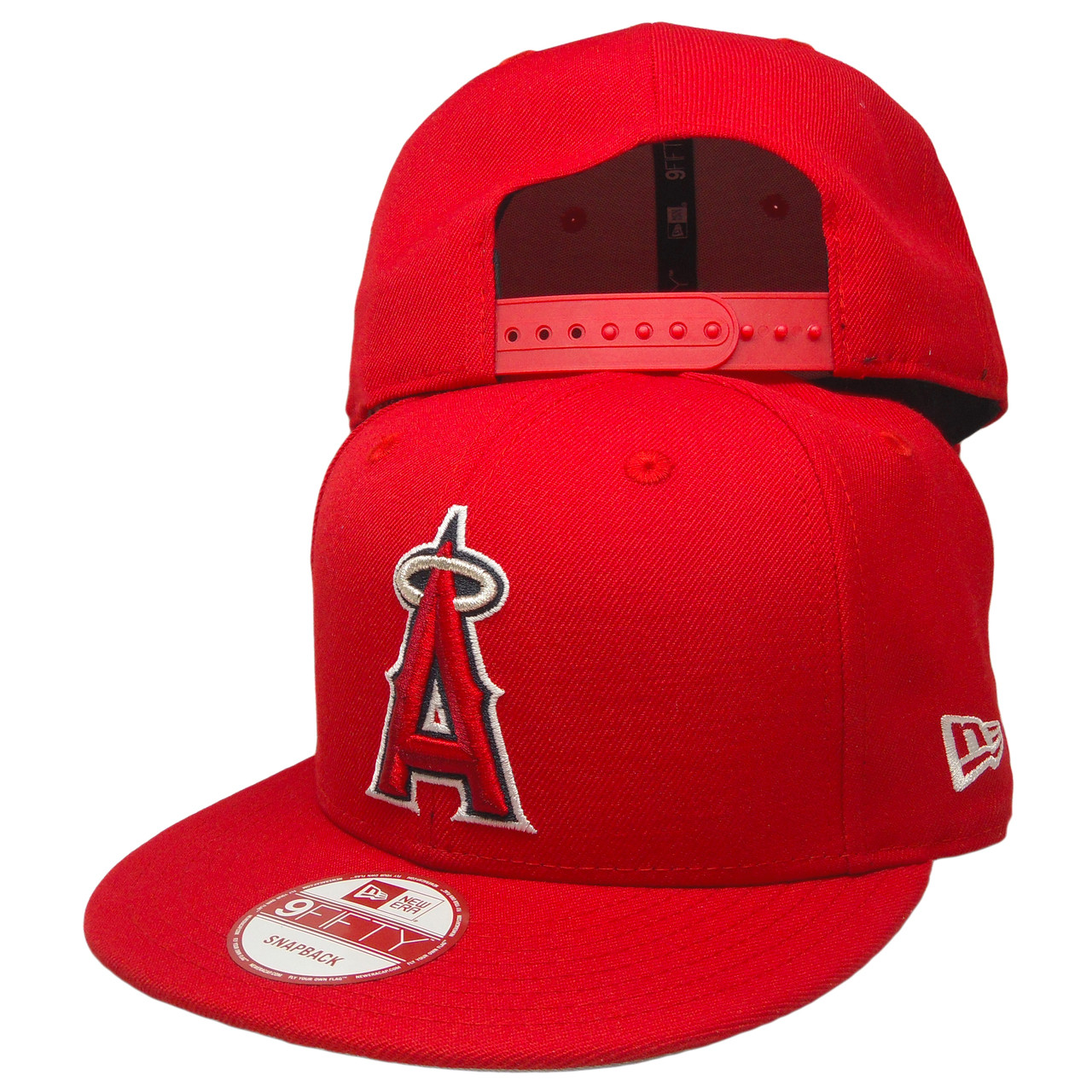 new product 43546 d0494 ... new zealand anaheim angels new era scarlet 1961 9fifty snapback red  silver navy white ea859 79f0a