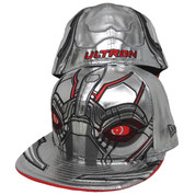 Ultron New Era 59Fifty Character Armor Fitted Hat - Metallic Silver, Red, Black