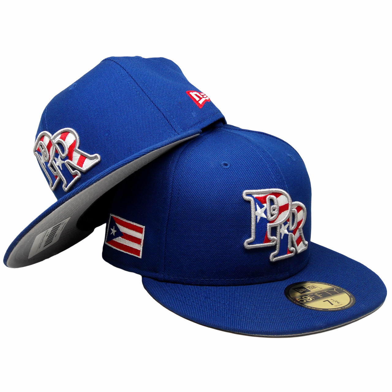 25df4b22876d1 Puerto Rico New Era 59Fifty Custom Fitted Hat - Royal