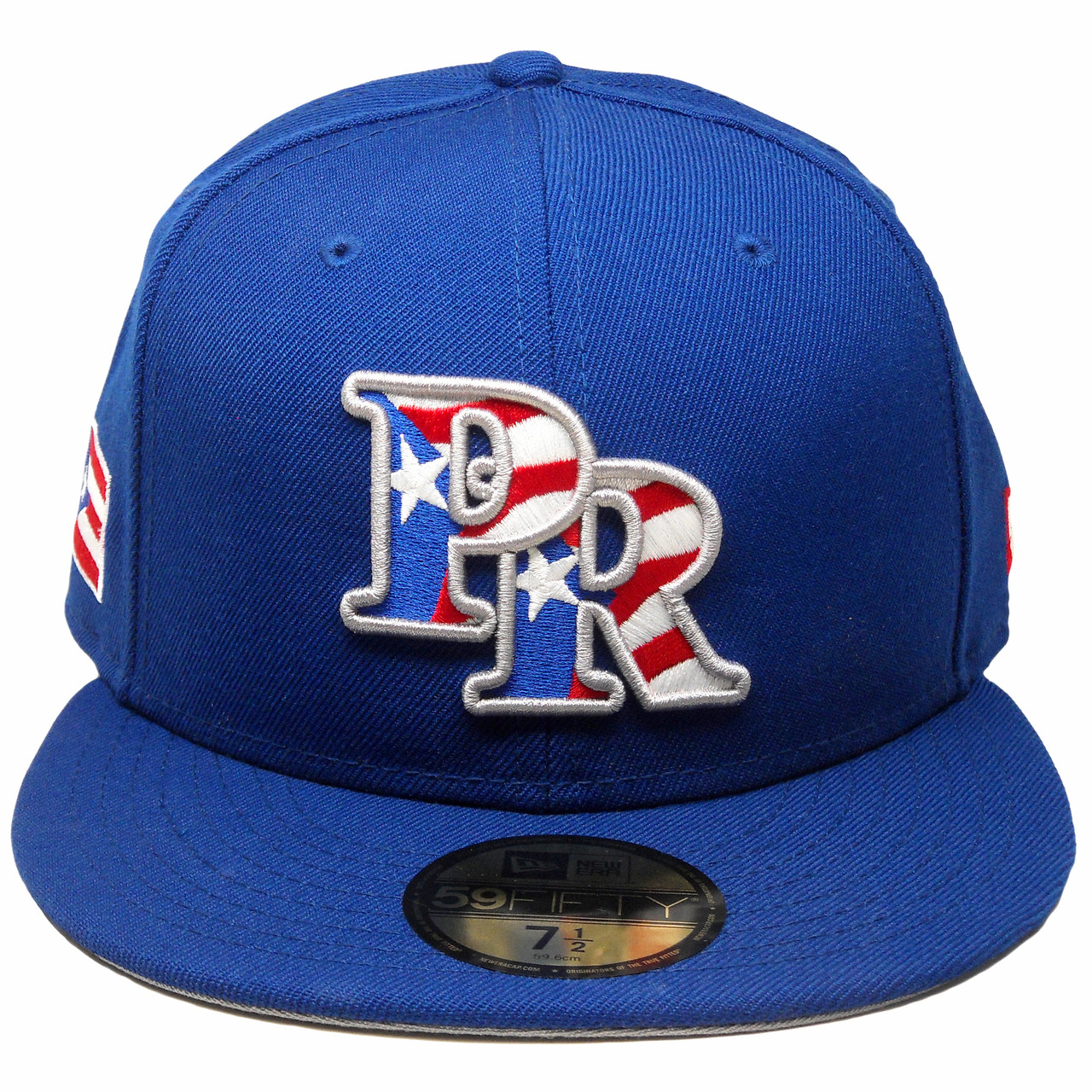 ... reduced reduced puerto rico new era 59fifty custom fitted hat royal  white red. larger more 75ad3e5e0fdd