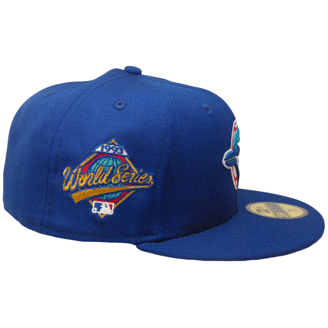 Toronto Blue Jays New Era Custom 59Fifty Fitted Hat - Blue 42e61d7a76f8