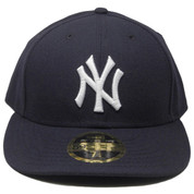 New York Yankees New Era 59Fifty Low Profile Fitted Hat - Navy, White