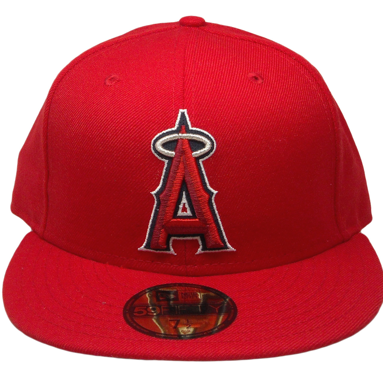 0678dbe22969ae Anaheim Angels New Era Custom 59Fifty Fitted Hat - Red