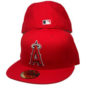 Anaheim Angels New Era Custom 59Fifty Fitted Hat - Red, Silver, Navy, White