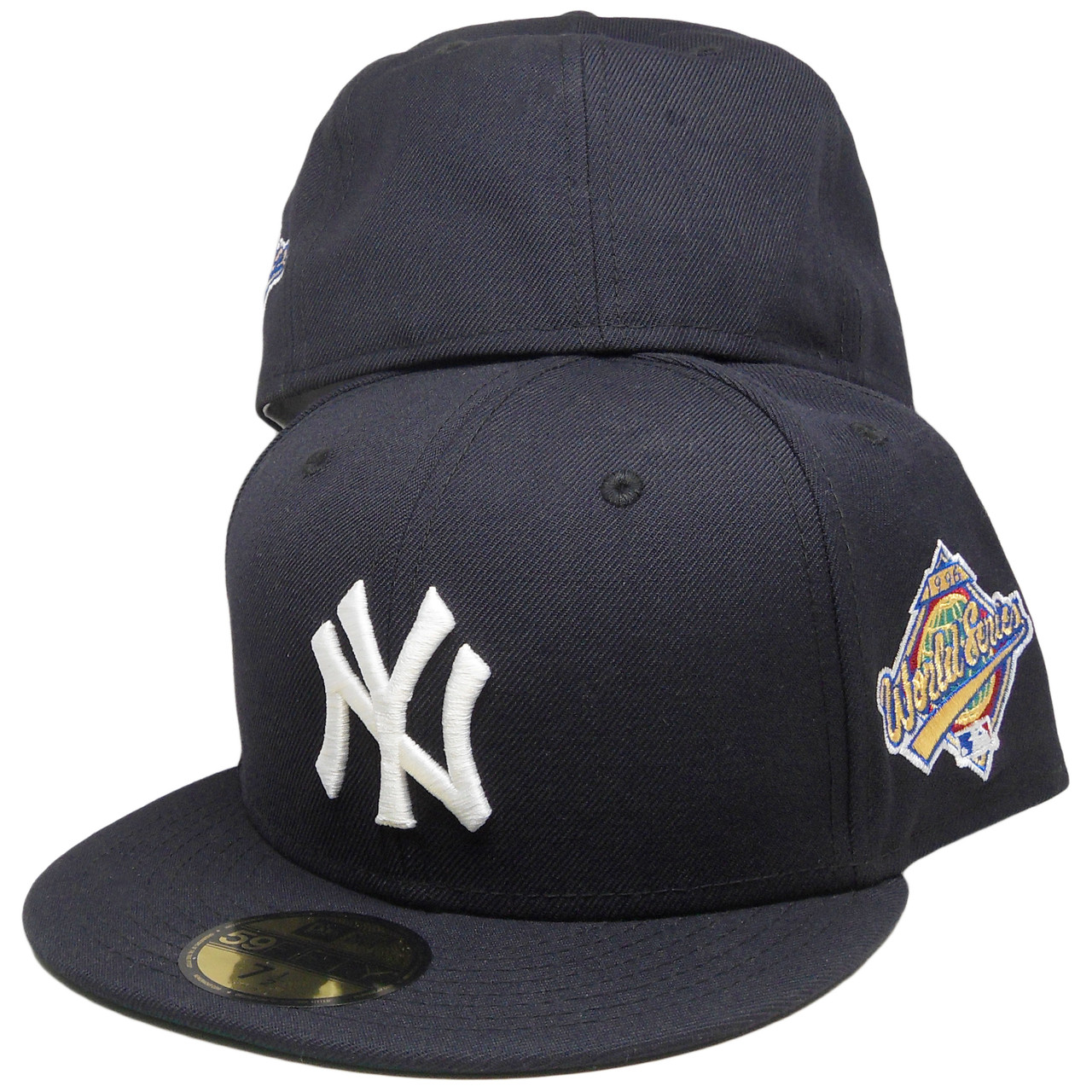 7d238d591fd69 New York Yankees New Era 1996 Custom 59Fifty Fitted Hat - Navy Blue ...