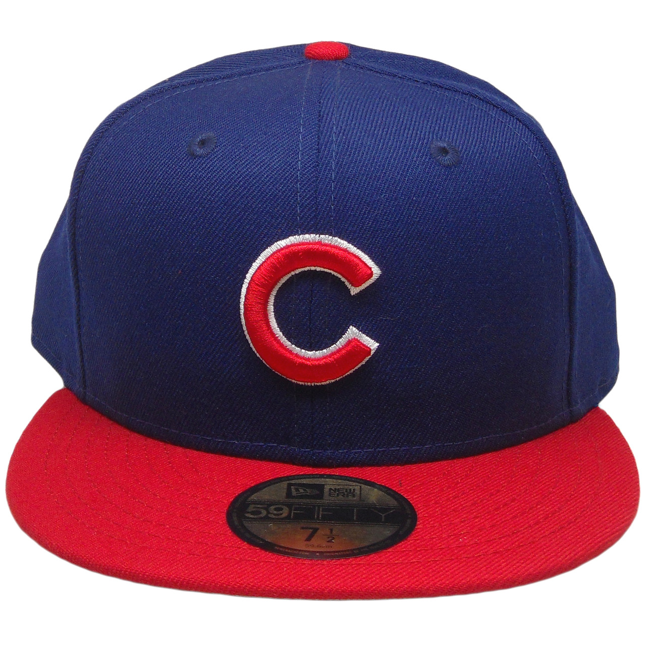 01b37565ccd Chicago Cubs New Era Custom 59Fifty Fitted Hat - Dark Royal