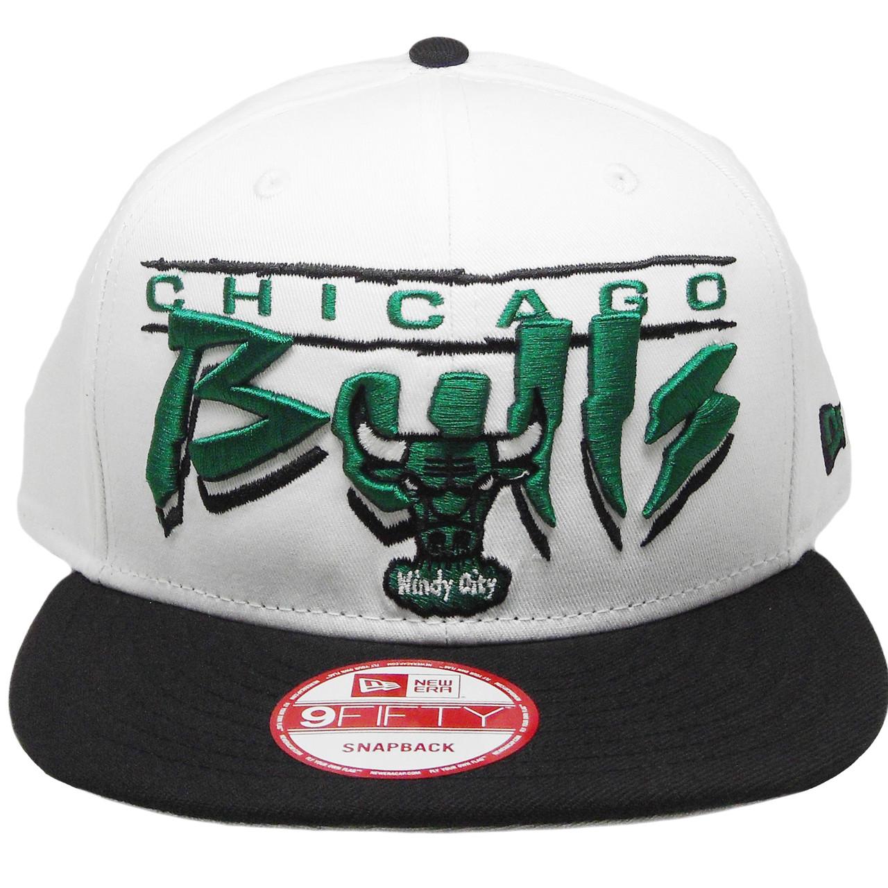 9ca24b4b3ea Chicago Bulls New Era Custom 9Fifty Snapback Hat - White