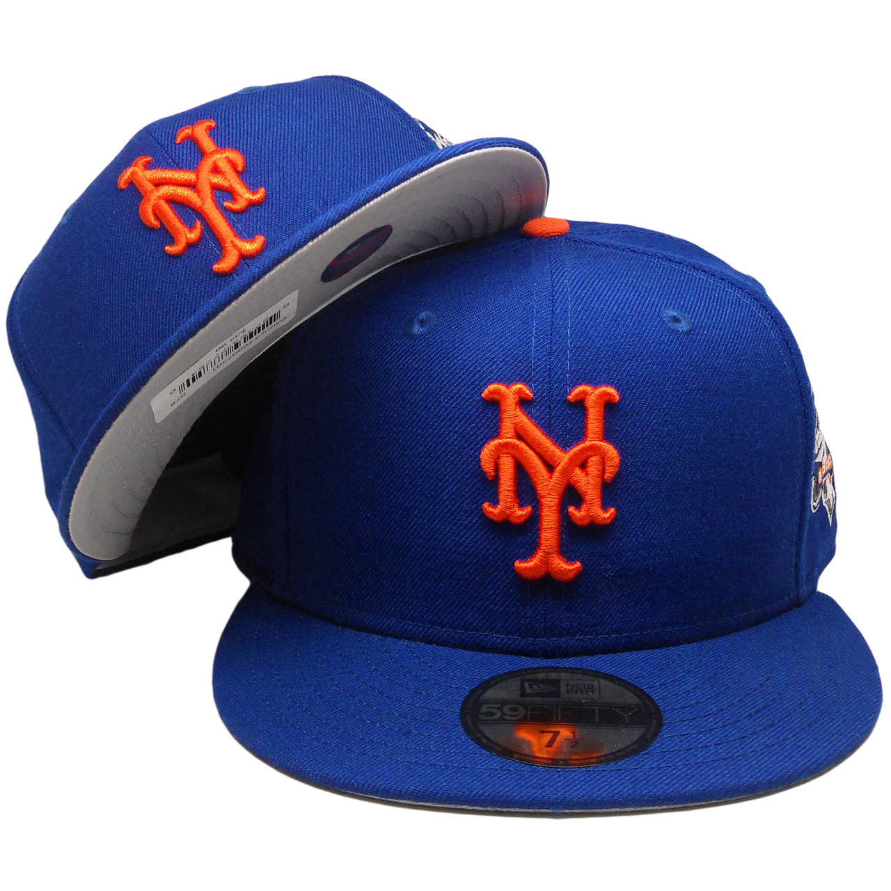 7f895fb87e6 New York Mets New Era Custom 59Fifty Fitted Hat - Royal