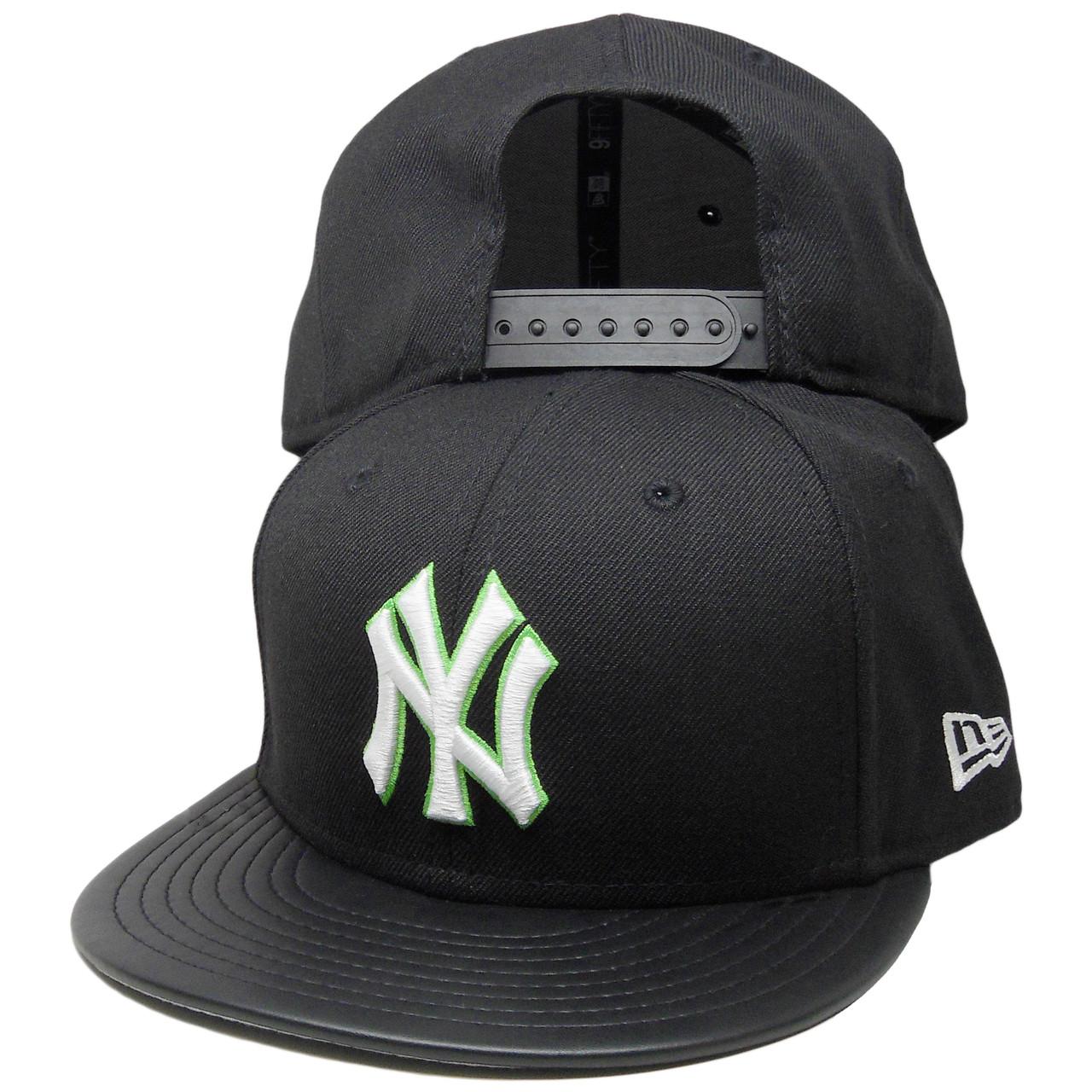 c49d95df2ec New York Yankees New Era 9Fifty Custom Snapback Hat - Black