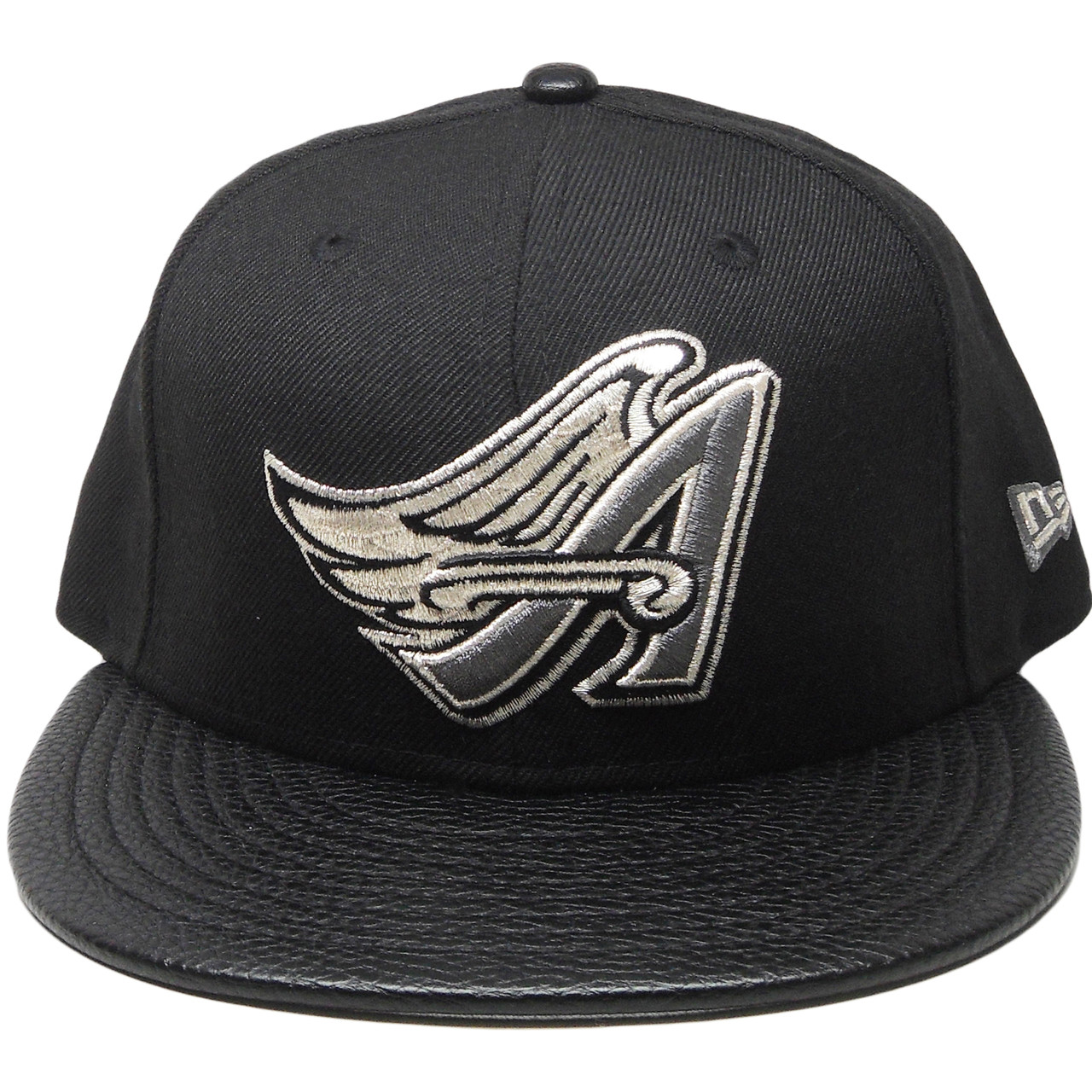 008ddb8b384764 Anaheim Angels New Era Custom 59Fifty Fitted Hat - Black
