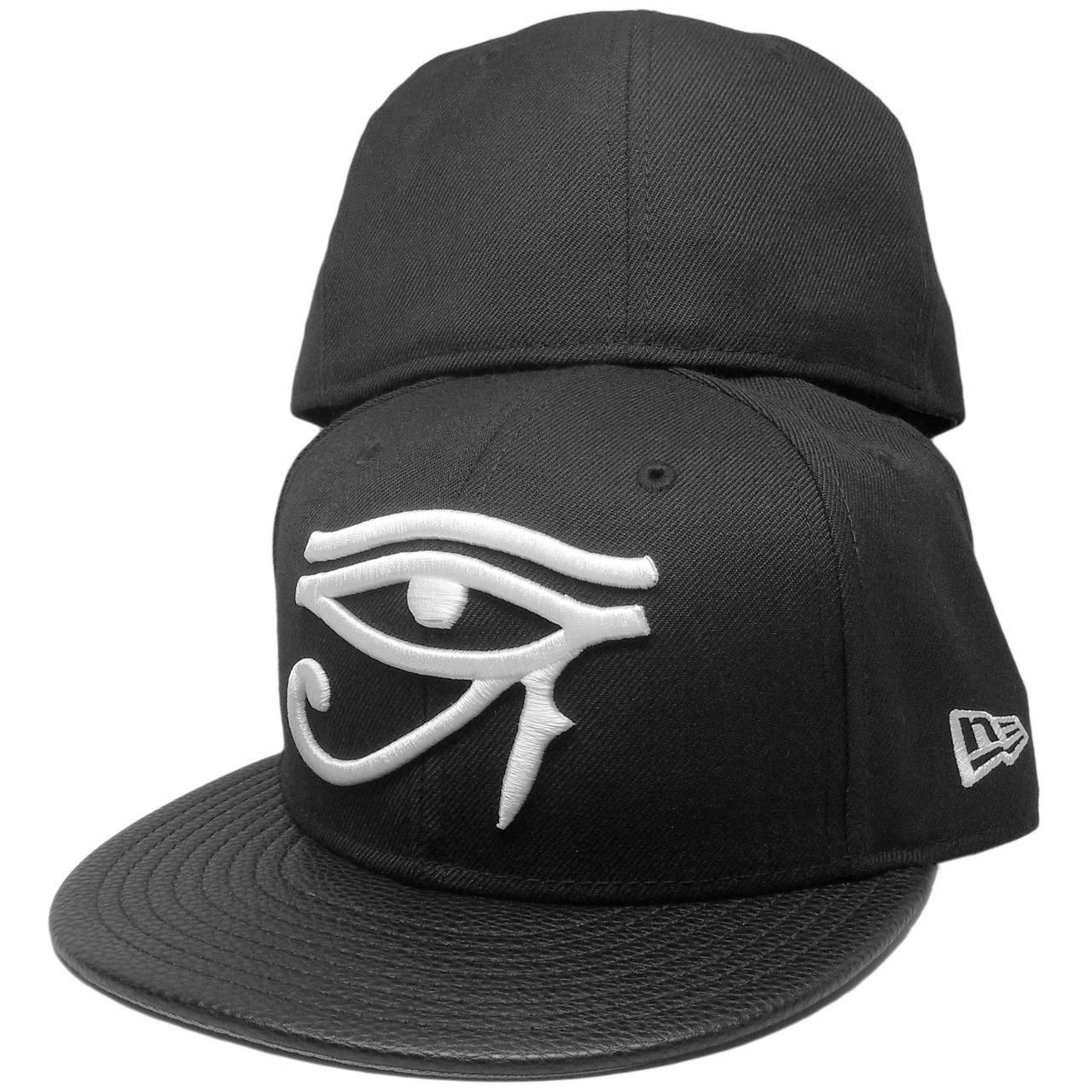 Eye Of Horus New Era Custom 59Fifty Fitted Hat - Black 29fac0136f78
