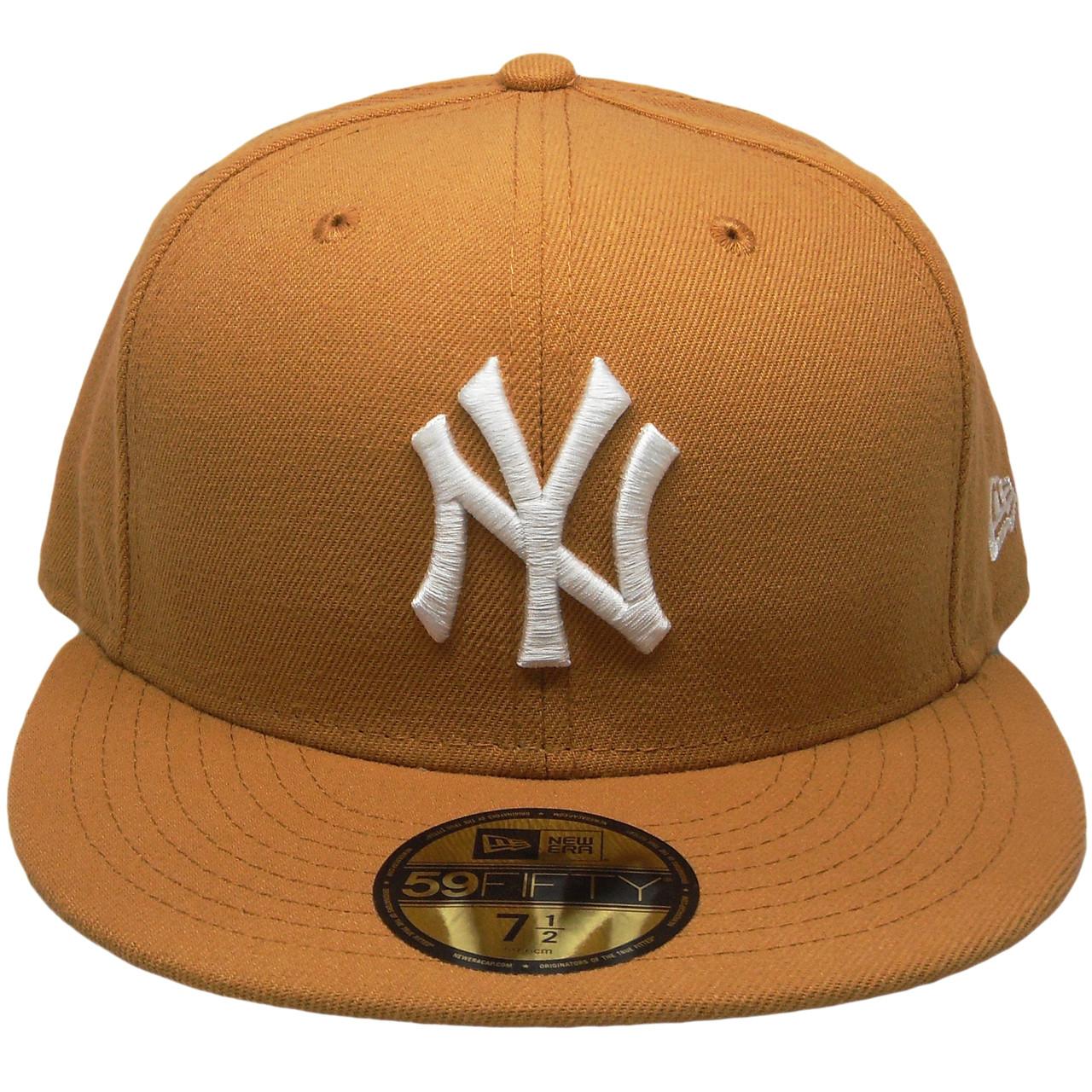 c1fdb9b33ce New York Yankees New Era Custom 59Fifty Fitted Hat - Wheat