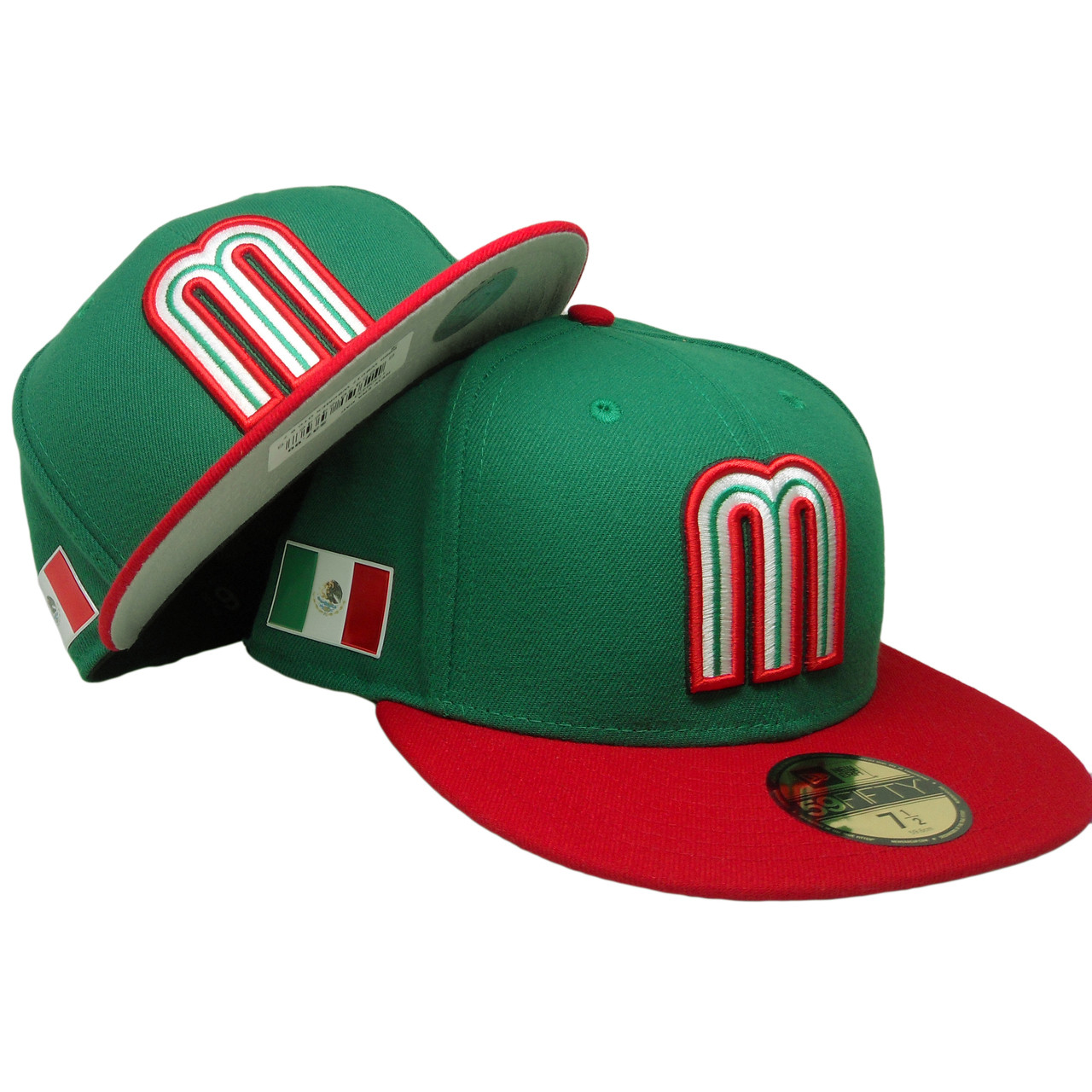 Mexico New Era 59Fifty WBC17 Fitted Hat - Green 7753dedafd23
