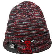 Chicago Bulls Team Craze Knit - Black, Red, White