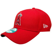 Anaheim Angels The League 9Forty Adjustable Hat - Red, Navy, Silver, White