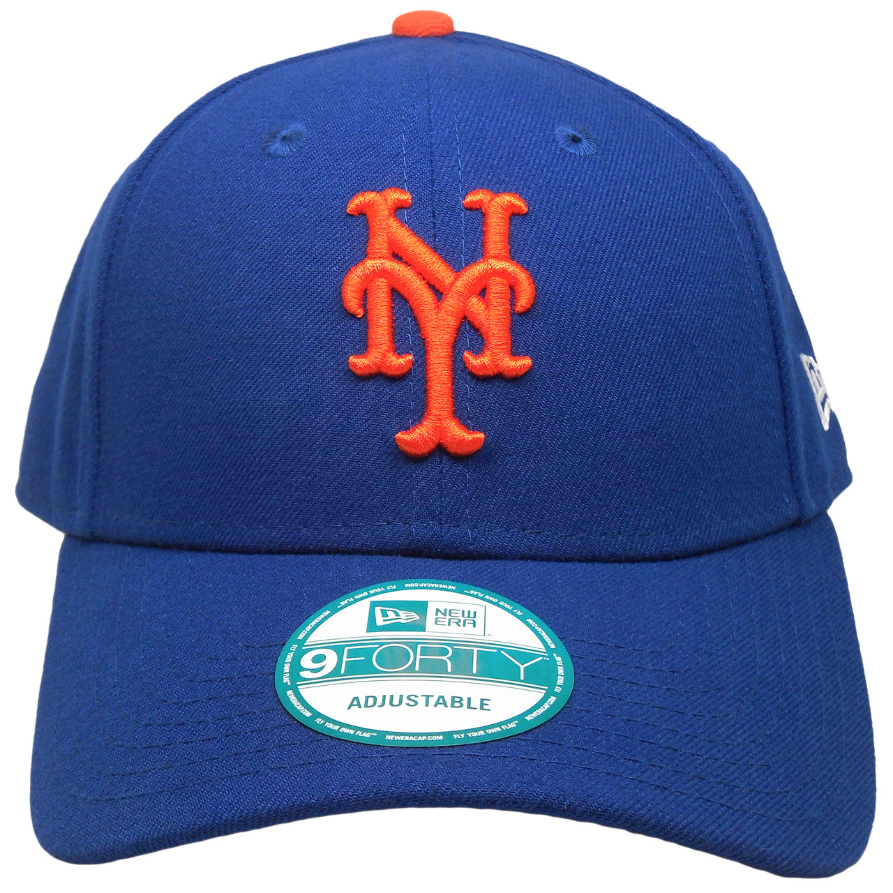 timeless design 6dff3 e89be New York Mets The League 9Forty Adjustable Hat - Royal, Orange -  ECapsUnlimited.com