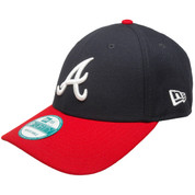 Atlanta Braves The League 9Forty Adjustable Hat - Navy, Red, White