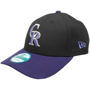 Colorado Rockies The League 9Forty Adjustable Hat - Black, Purple, Silver