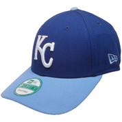 Kansas City Royals League 2-Tone 9Forty Adjustable Hat - Royal, Sky, White