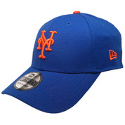 New York Mets Team Classic 39Thirty Flexfit hat - Royal, Orange