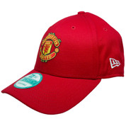 Manchester United Basic 9Forty Adjustable Hat - Red, Yellow, Black