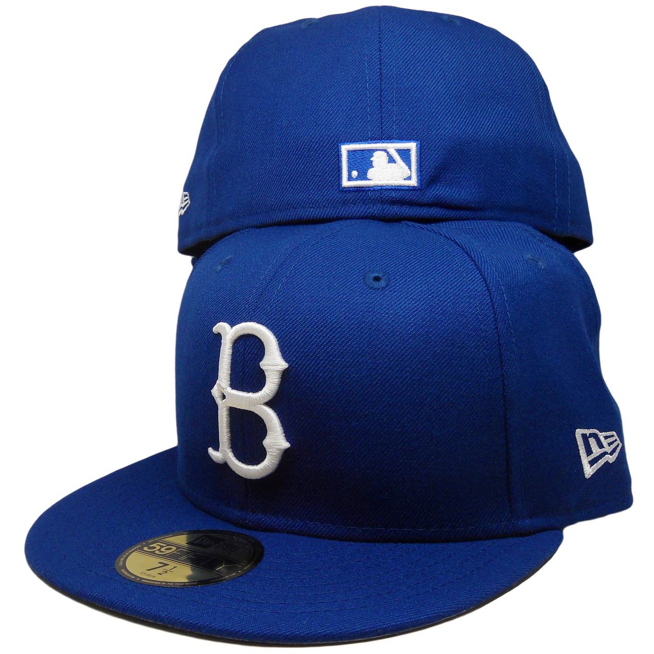 a38b69b2 ... coupon code for brooklyn dodgers custom gray bottom 59fifty fitted hat  royal white 58df1 9b2e6